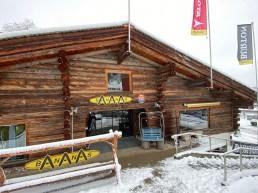Eingang Bananas by Gisler Sport Tschuggen Ost Arosa Bergbahnen