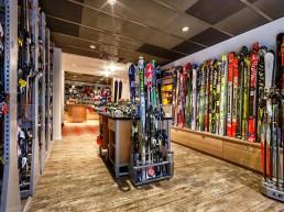 Gisler Sport Skiverleih Shop Tschuggen Grand Hotel