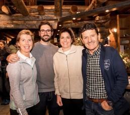Familie Gisler Arosa Inhaber des Aroser Sportgeschäft - Max, Anne-Marie, Marco, Miriam Gisler