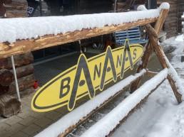 Skiständer Bananas by Gisler Sport Tschuggen-Ost Arosa
